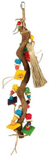 trixie-jouet-en-bois-avec-balles-osier-56-cm