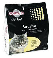 Struvite Aliment Diététique pour Chats. 10 KG Porta21
