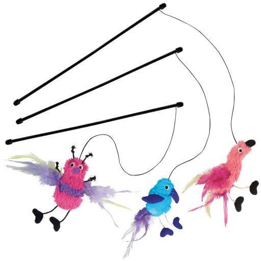 Feather Teaser Leurre Plume 52.8 cm KONG