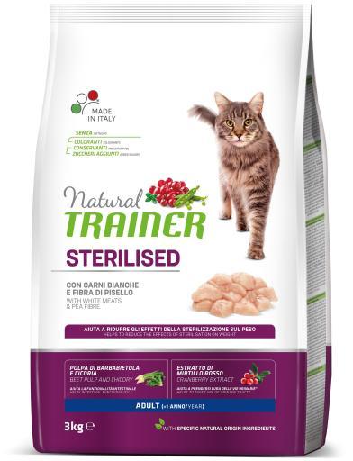 Natural Adult Sterilised Viande Blanche 1.5 Kg Trainer