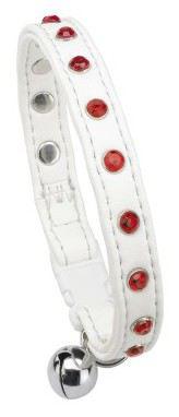 Joy White Collar Gat 1.2x28 cm Ferplast