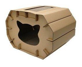 Amour Cat Scratching Cozy House 50x38x35 cm Hagen