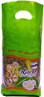 Foin de Fétuque avec Camomille pour Rongeurs 500 GR Ribero