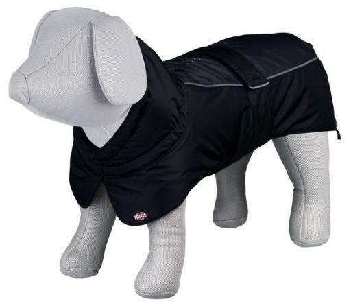 trixie-premier-manteau-noir-gris-62-cm