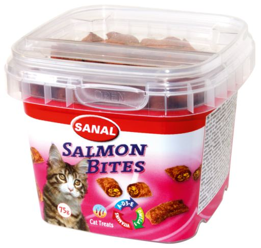 Bote Sanal Cat Salmon Bites