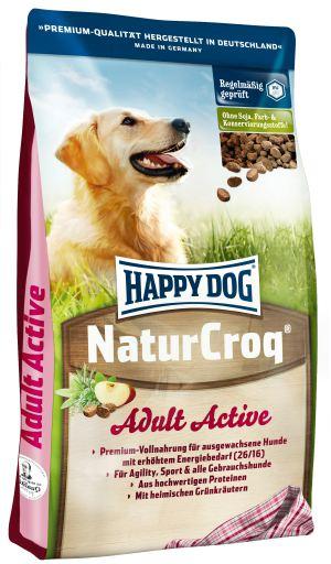 Naturcroq Active High Energy Level 15 Kg Happy Dog