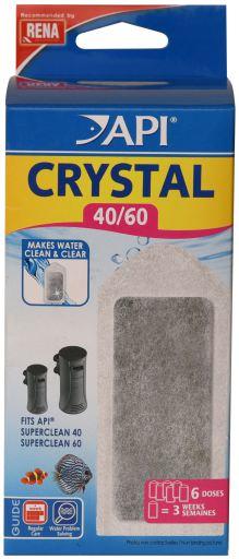 Crystal Superclean40/60 X6 6 Filtres API