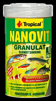 Nanovit Granulé 100 ml 100 ml Tropical