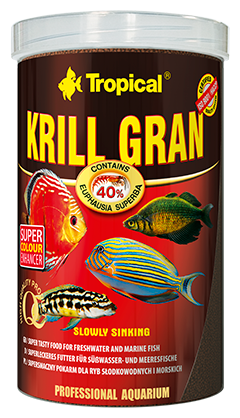 Krill Gran Granules 100 ml 100 ml Tropical
