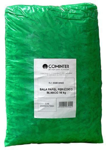 Litière Papier Journal Blanc 12-14kg 12 KG Cominter
