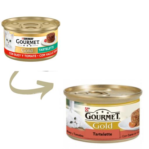 Gold Tartelette de Buey y Tomate