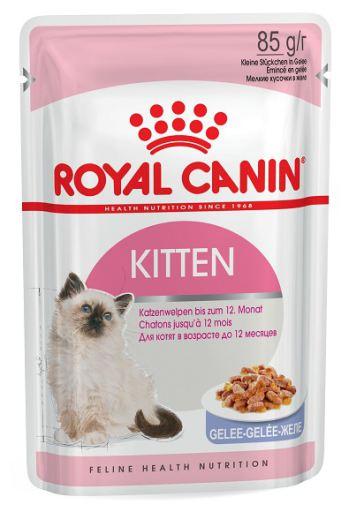 12x85 gr Royal Canin Nourriture Humide Kitten Instinctive Jelly