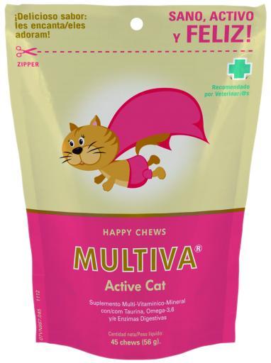 Multiva Active Cat 45 Chews 45 Chews VetNova