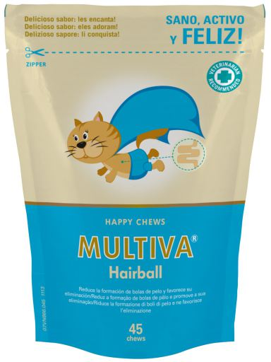 Multiva Hairball 45 Chews 45 Chews VetNova
