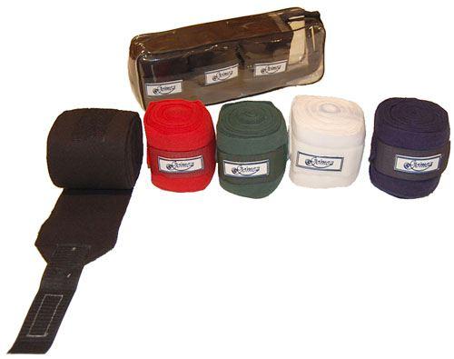Bandage Polo-Repos 4 M x12 Cm Rouge (Jeu 4) Gómez