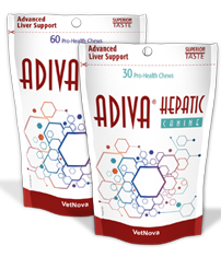 Adiva Hepatic Feline - 60 Chews VetNova