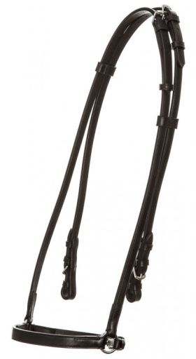 Icelandic Bridle Basic Black Cob QHP