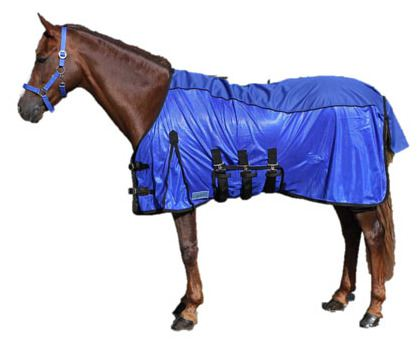 Anti-Fly Combo blanket Blue 185 cm QHP
