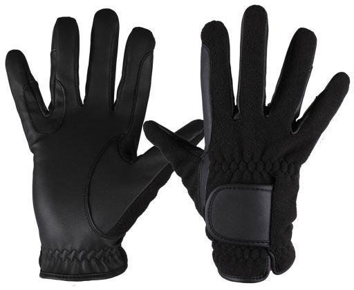 qhp-frozen-black-gloves-m