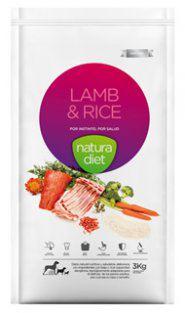 Natura Diet Lamb & Rice 3 Kg Natura Diet