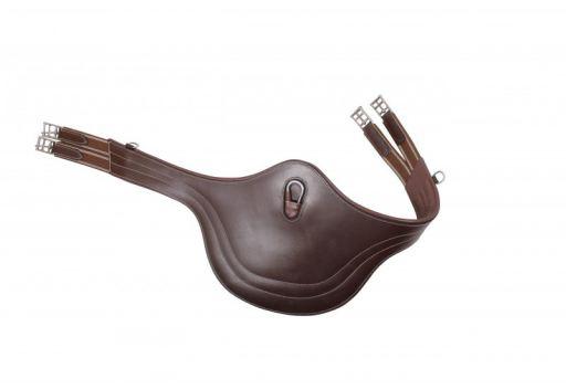 qhp-luxury-cinch-dark-brown-stitching-barrigueracon-130-cm