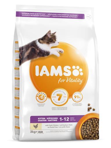 iams-proactive-health-kitten-poulet-3-kg