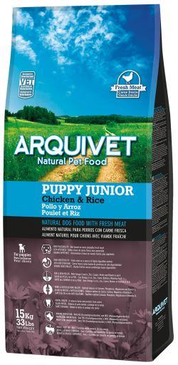 Puppy Junior Poulet et Riz 3 Kg Arquivet