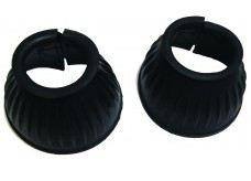 Rubber hoods helmets Black XL QHP