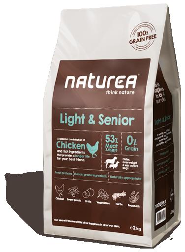 Light & Senior 12 KG Naturea