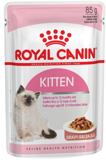 Kitten Wet Food en Sauce pour Chatons 85 gr Royal Canin