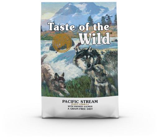Pacific Stream Nourriture pour Chiots au Saumon Fumé 2 KG Taste of