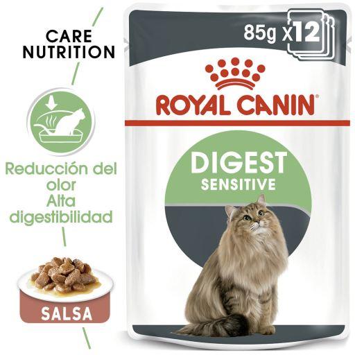 Digest Sensitive en Salsa para Cuidado Digestivo en Gato Adulto