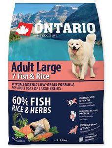Adult Grandes Races Poisson et Riz 2.25 KG Ontario