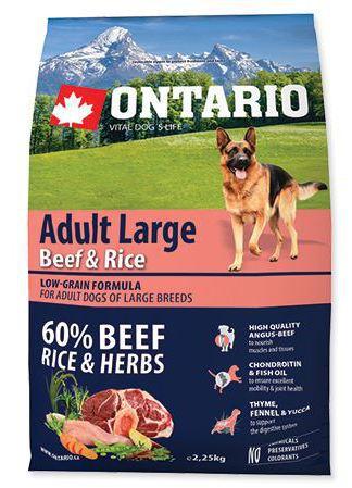 Adult Grandes Races Veau et Riz 2.25 KG Ontario