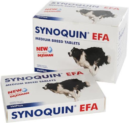 Synoquin Joint Chondroprotector for Medium Dogs en comprimés 120