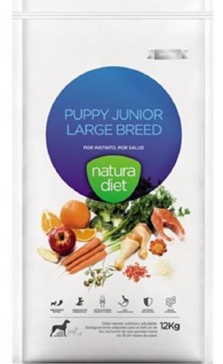 Natura Diet Puppy Junior Large Breed 12 KG Natura Diet