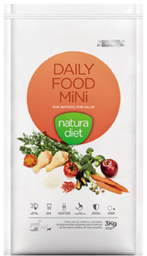 Natura Diet Daily Food Mini 3 Kg Natura Diet