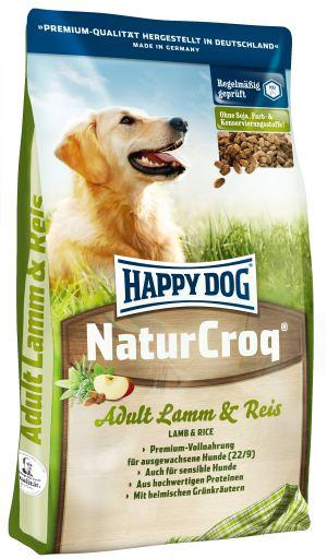 Naturcroq Lamm & Reis 15 Kg Happy Dog