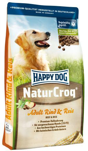 Naturcroq Rind & Reis 15 Kg Happy Dog