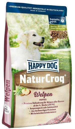 Naturcroq Welpen 15 Kg Happy Dog