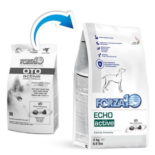 Aliment Diététique Complet pour Chiens Oto Active 4 KG Forza10
