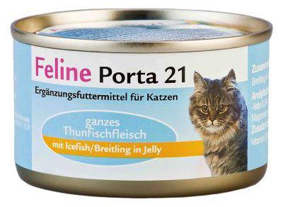 Feline Sprat/Shirasu - sans Céréales 156 GR Porta21