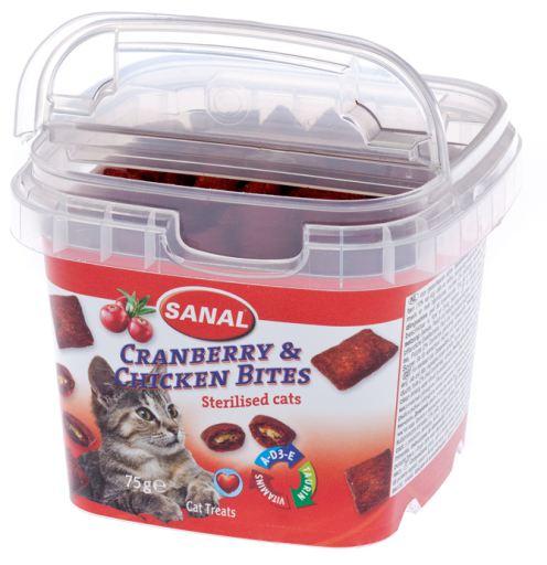 Sanal Cat Blueberry Boat / Chicken 75 Gr