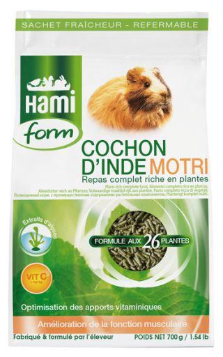 Nourriture Complète pour Cochon dInde - Motri 700G 700 GR Hami Form