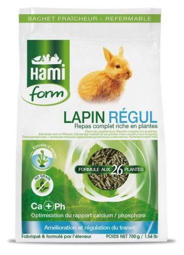 Nourriture Complète pour Lapins - Régul 700G 700 GR Hami Form