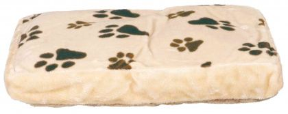 Coussin rectangulaire pour chien Gino Rectangulaire Beige 80x55 cm