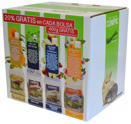 Boîte Gourmet 600 GR Cunipic