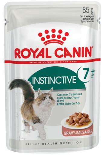 12x85 gr Royal Canin Nourriture Humide Instinctive +7 Gravy