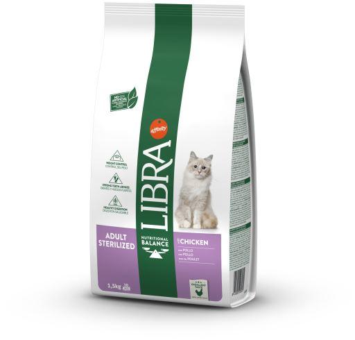 Tourteau Sterilized 1.5 Kg Libra Cat