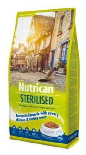 Cat Sterilized 10 KG Nutrican